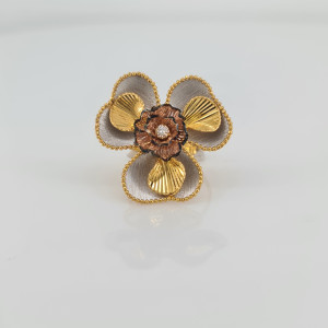 Designer Gold Ring 13