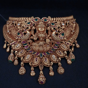 Lakshmi Antique Chocker 1