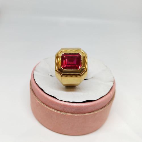 Red Ruby Fancy Ring