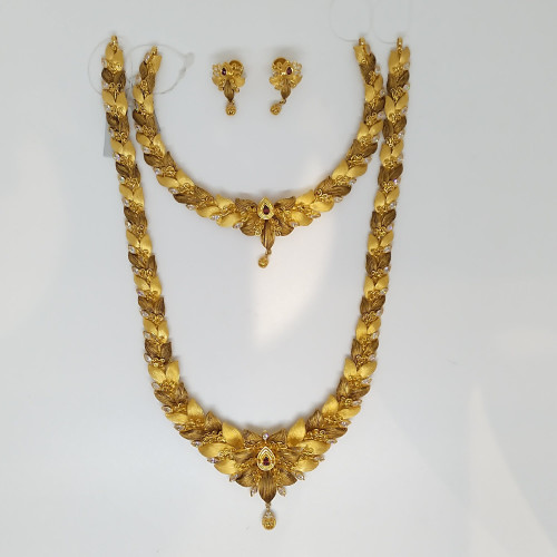 Jewel One Classic Haram And Necklace Set