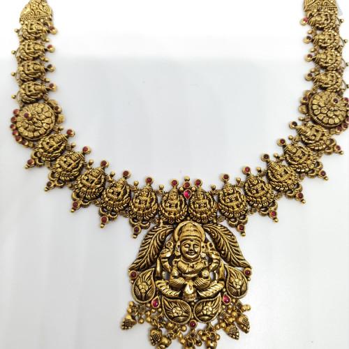 Antique Full Lakshmi Nacklace