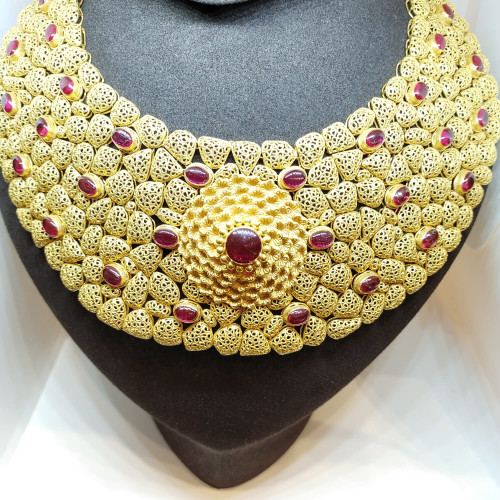 Ethnic Antique Ruby Nacklace