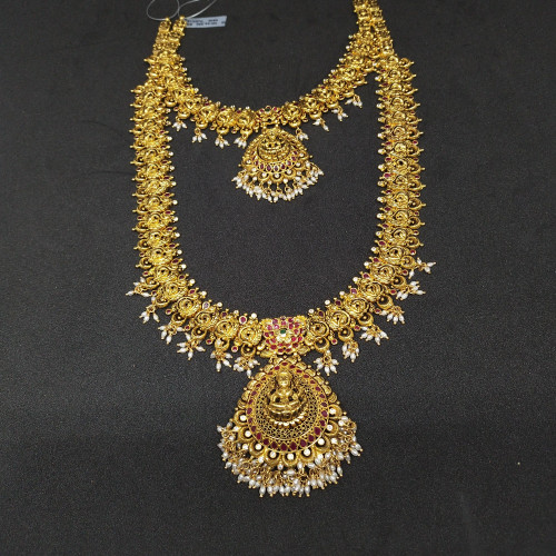 Antique Fancy Haram And Necklace