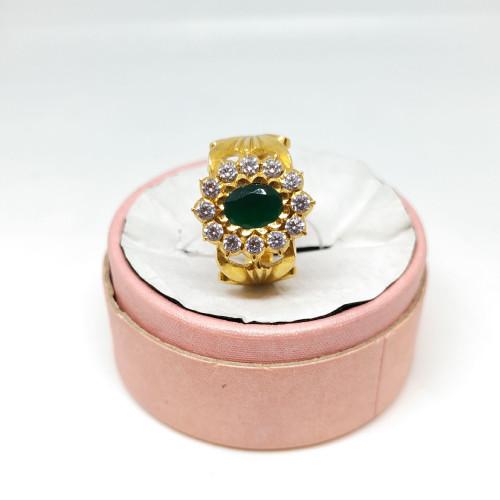 Emerald Fancy Ring