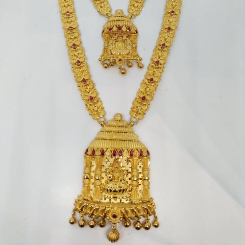 Lakshmi Fancy Haram And Necklace
