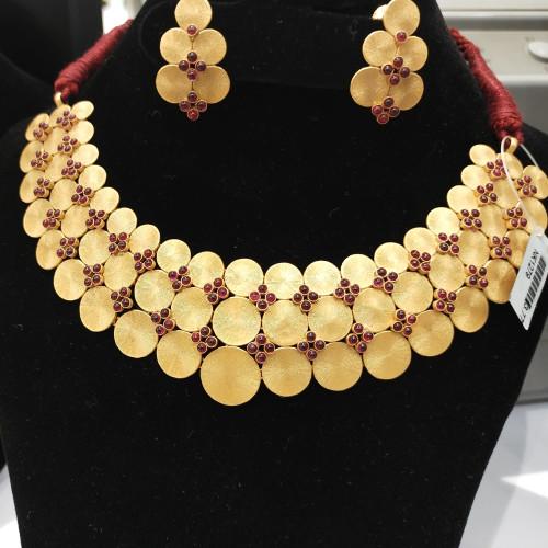 Fancy Ruby Necklace