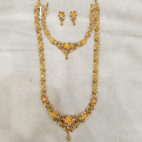 Jewel One Haram And Necklace Sets