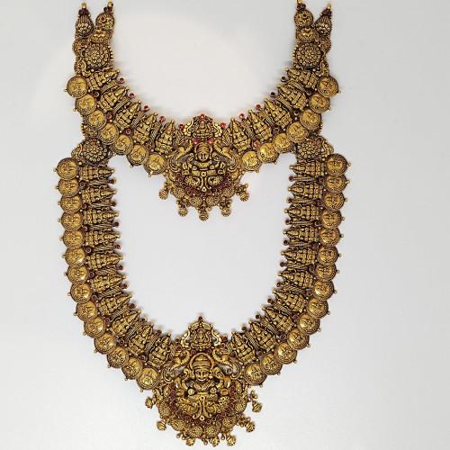 Antique Lakshmi Kasu Malai