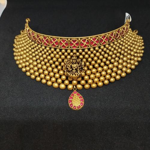 Lakshmi Antique Choker