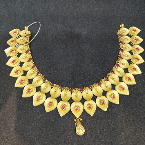 Ethnic Ruby Nacklace