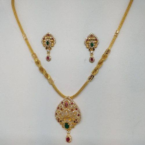 Flower Stone Fancy Nacklace