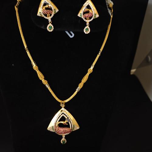 Fancy Stone Horse Nacklace