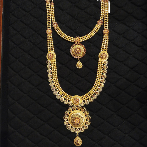 Fancy Haram And Necklace
