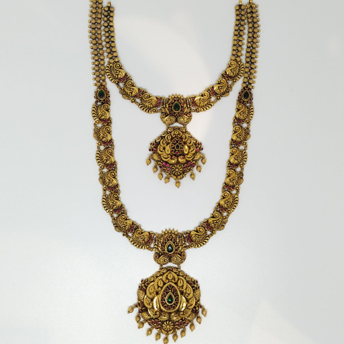 Fancy Haram And Necklace Sets