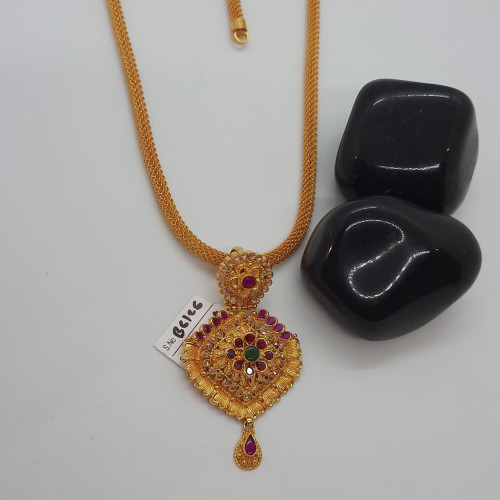 Rope Chain With Pendant