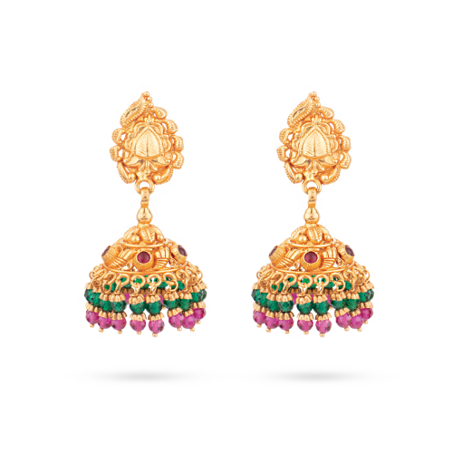 Malar Traditional Jhumka