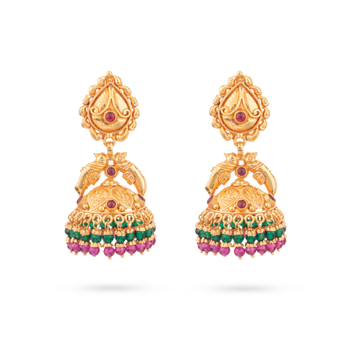 Mozhili Traditional Jhumka