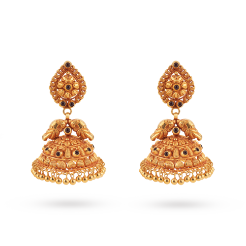 Gauri Traditional Jhumka