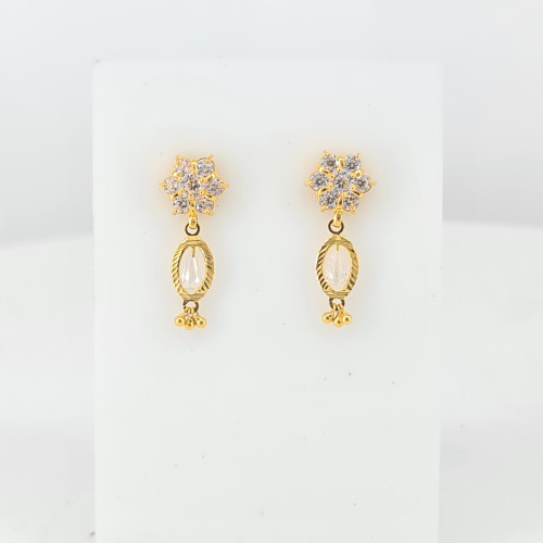 Fancy Gold Earrings 08