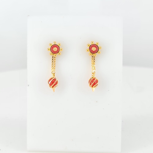 Gold Earrings 28