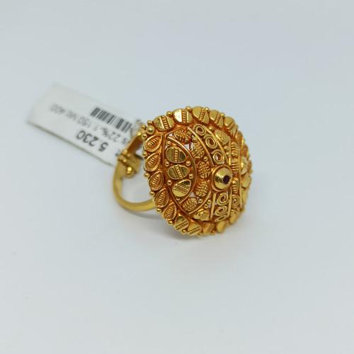 Eye Shape Temple Ring