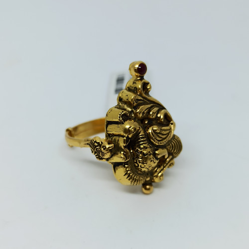 Peacock Antique Nakash Ring