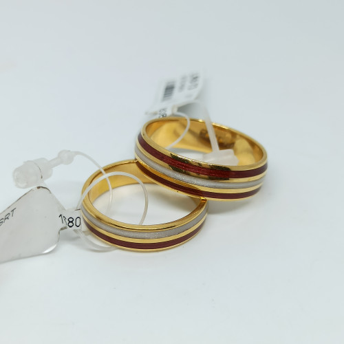 Enamel Couple Ring