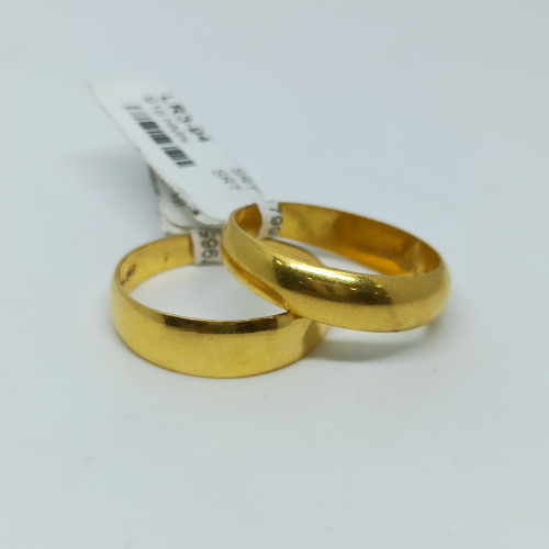 Plain Gold Couple Ring
