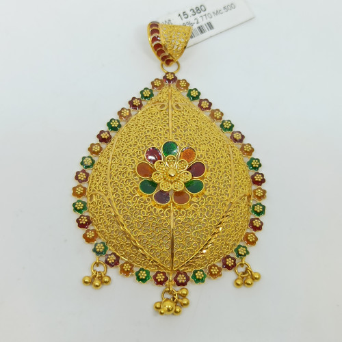 Dotted Jali Pendant
