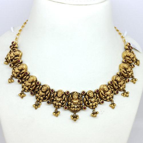 Sri Lakshmi Antique Necklace