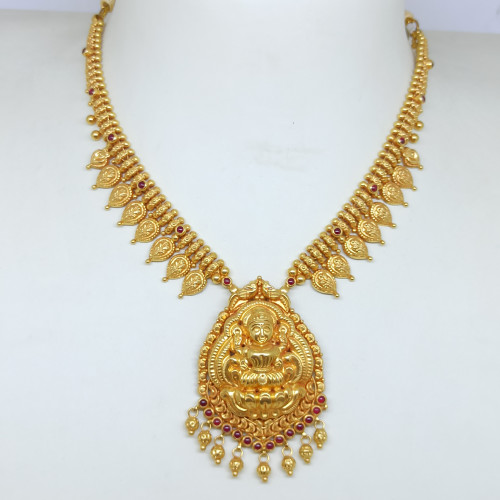 Lakshmi With Mango Chain Haram