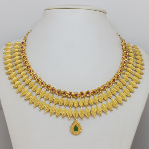 Leaves Traditional Necklace
