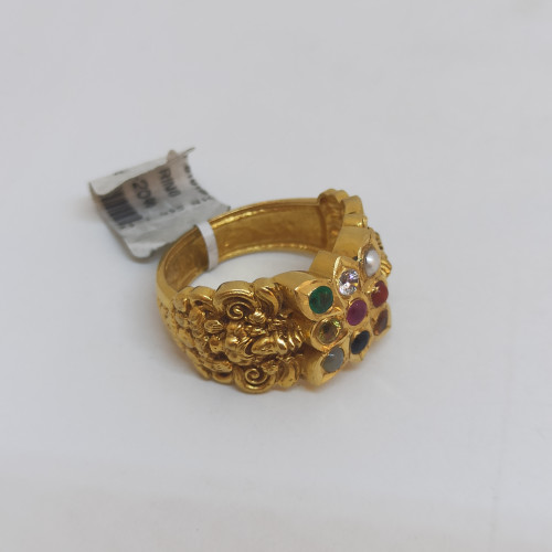 Navaratana Antique Ring