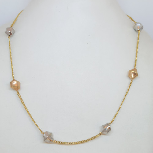 Rounded Rosegold Chain
