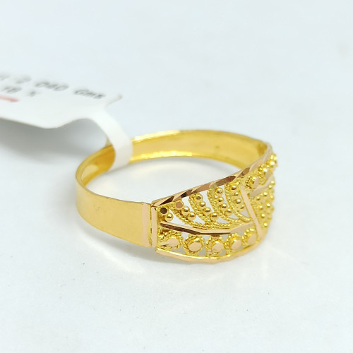 Plain Gold Designer Ring