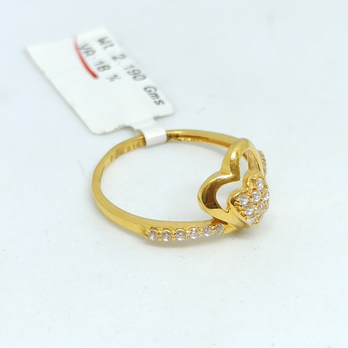 Heart Shape Cz Ring