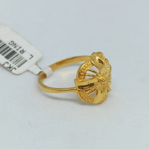 Jasmin Plain Gold Ring