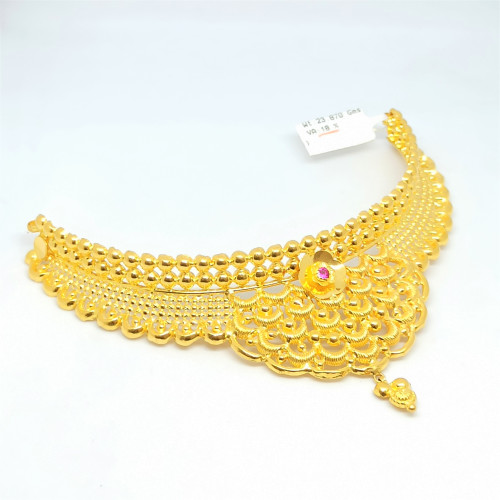 Gold Ball Designer Choker