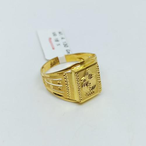 Kalasha Plain Gold Ring