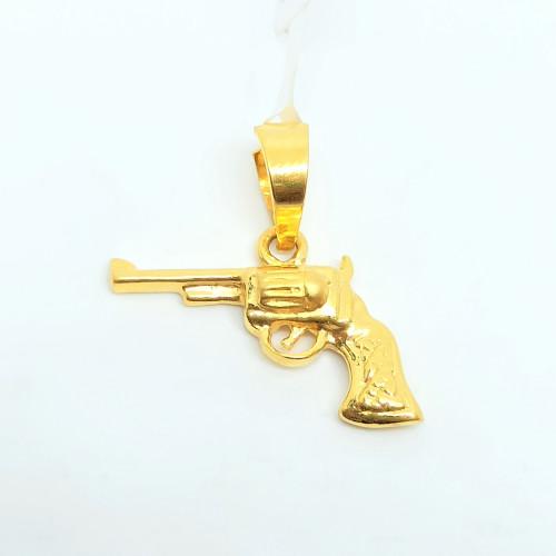 Pistol Plain Pendant