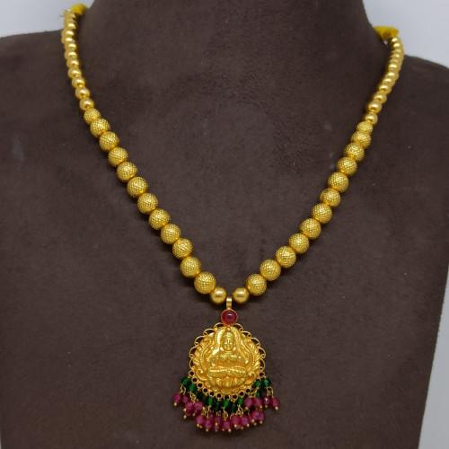 Lakshmi Ball Bead Necklace