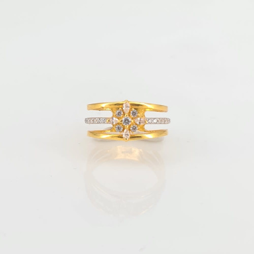 Designer Gold Ring 14