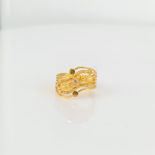 Fancy Gold Ring 08