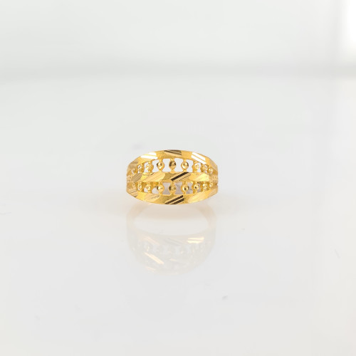 Fancy Gold Ring 06