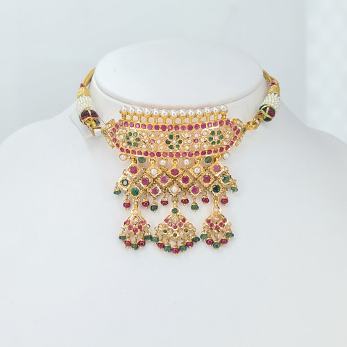 Hyderabadi Necklace 02