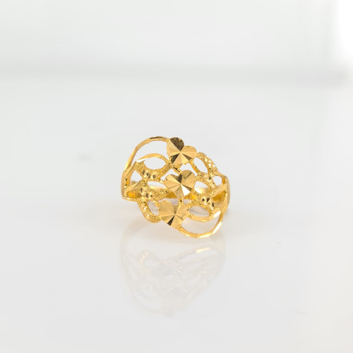 Fancy Gold Ring 04