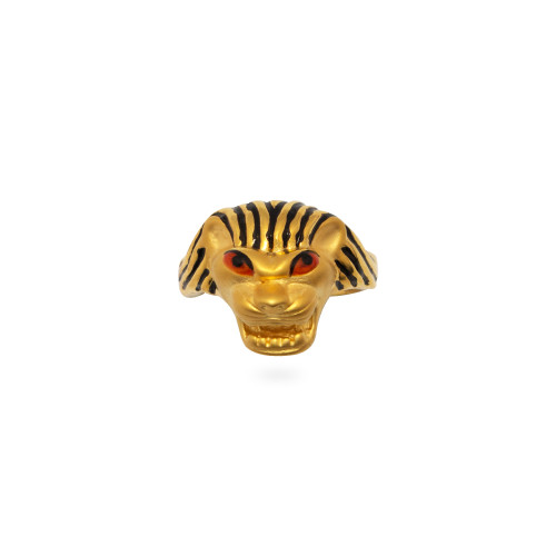 Electro Hollow Lion Ring