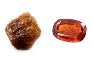 Natural Hessonite Garnet Gemstone