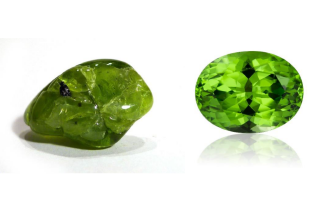 Natural Peridot Gemstone