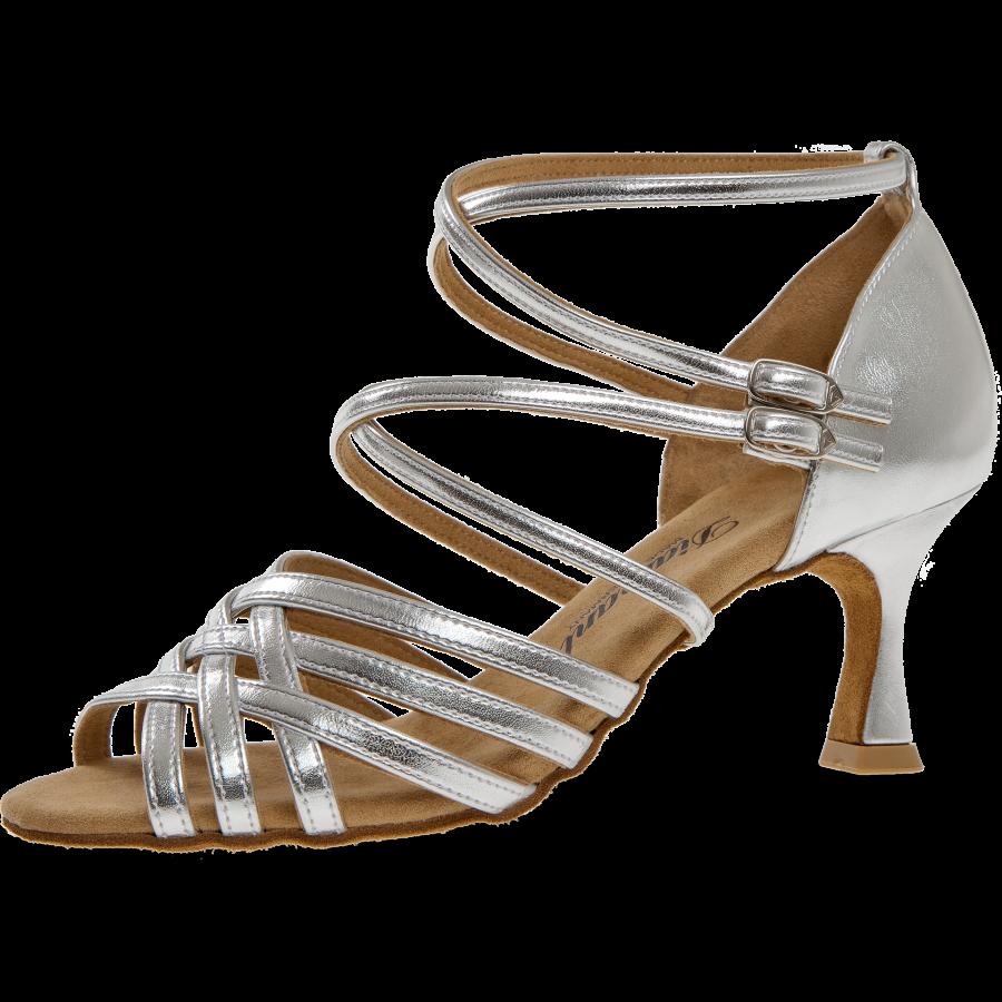 innovative design 60f74 d8d11 Damen-Tanzschuh Mod. 108 für Latein in Silber Synthetik